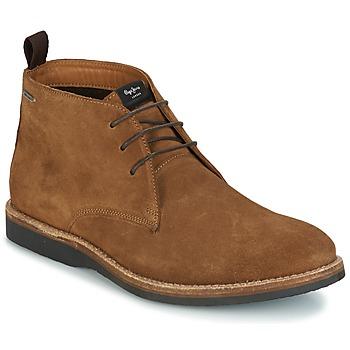 Boty Muži Kotníkové boty Pepe jeans KENT CHUCCA Hnědá