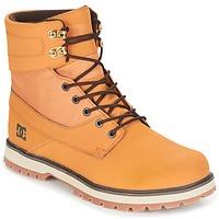 Boty Muži Kotníkové boty DC Shoes UNCAS M BOOT TBK Béžová / Černá / Hnědá