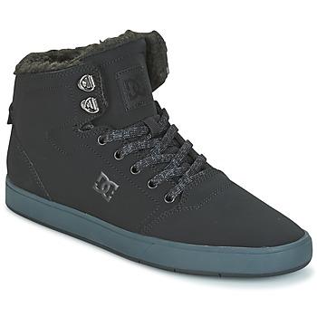 Boty Muži Kotníkové tenisky DC Shoes CRISIS HIGH WNT Černá / Šedá