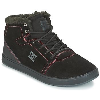 Boty Děti Kotníkové tenisky DC Shoes CRISIS HIGH WNT Černá / Červená / Bílá