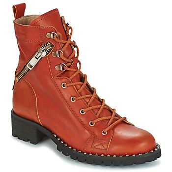 Boty Ženy Kotníkové boty Dkode UDELE-OCRE-008 Okrová