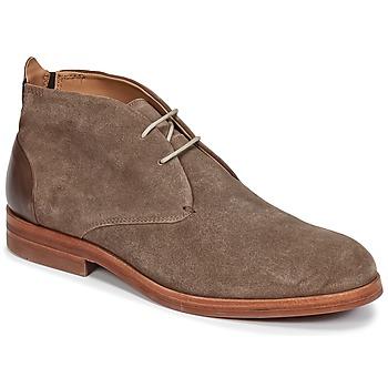 Hudson Kotníkové boty MATTEO - Hnědá