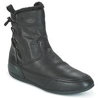 Boty Ženy Kotníkové boty Geox D NEW MOENA Černá