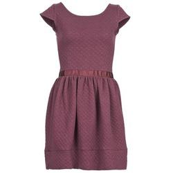 Textil Ženy Krátké šaty Naf Naf OHORTENSE Fialová