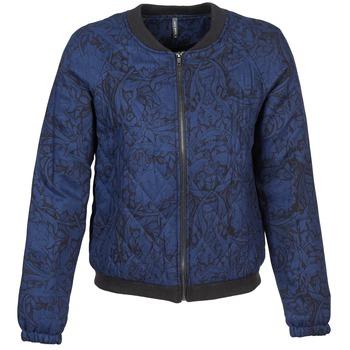 Textil Ženy Bundy Naf Naf LORRICE Modrá
