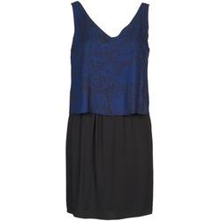 Textil Ženy Krátké šaty Naf Naf LORRICE Černá / Modrá