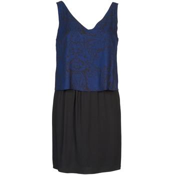 Naf Naf Krátké šaty LORRICE - Modrá