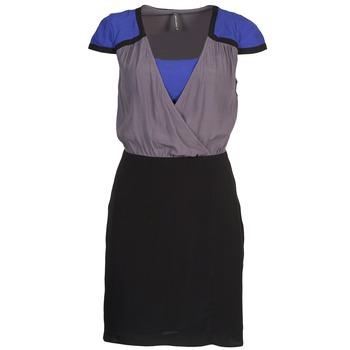 Naf Naf Krátké šaty LYFAN - Černá