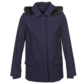 Textil Ženy Kabáty Naf Naf ARMANDE Tmavě modrá