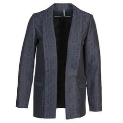 Textil Ženy Saka / Blejzry Naf Naf ELYO Tmavě modrá