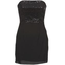 Textil Ženy Krátké šaty Naf Naf LYCHA Černá