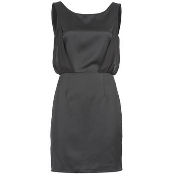 Textil Ženy Krátké šaty Naf Naf LYCOPINE Černá
