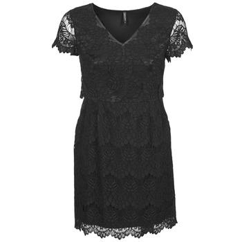 Naf Naf Krátké šaty LYJO - Černá