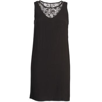 Naf Naf Krátké šaty LYSHOW - Černá