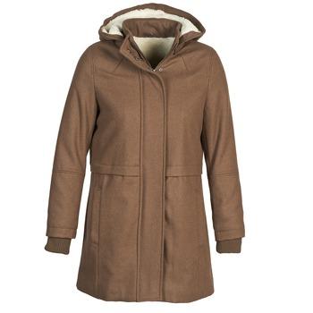 Textil Ženy Kabáty Naf Naf ABHEIGE Hnědá