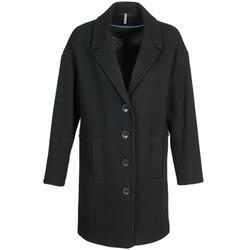 Textil Ženy Kabáty Naf Naf ALEX Černá
