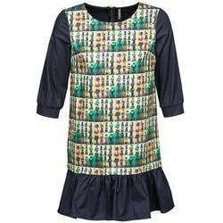 Textil Ženy Krátké šaty Naf Naf ECAPS Černá