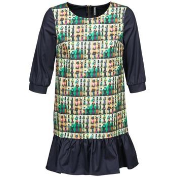 Textil Ženy Krátké šaty Naf Naf ECAPS Černá / Vícebarevná