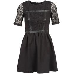 Textil Ženy Krátké šaty Naf Naf OBISE Černá