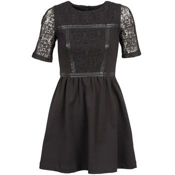 Naf Naf Krátké šaty OBISE - Černá