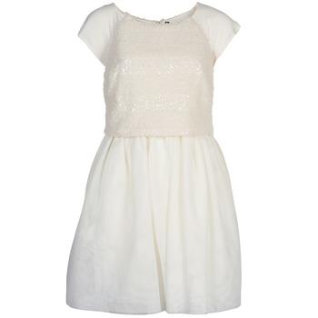 Textil Ženy Krátké šaty Naf Naf LYMELL Bílá