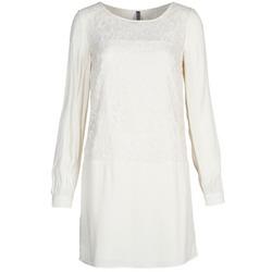 Textil Ženy Krátké šaty Naf Naf LYNO Krémově bílá