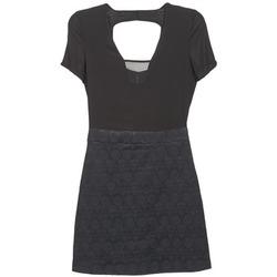 Textil Ženy Krátké šaty Naf Naf EKLATI Černá