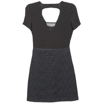 Naf Naf Krátké šaty EKLATI - Černá