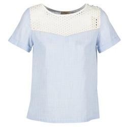 Textil Ženy Halenky / Blůzy Betty London GERMA Bílá / Modrá