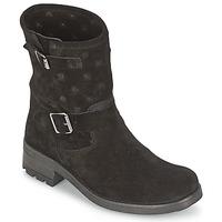 Boty Ženy Kotníkové boty Naf Naf XHNX70A18 Černá