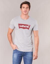 Textil Muži Trička s krátkým rukávem Levi's GRAPHIC SET-IN Šedá