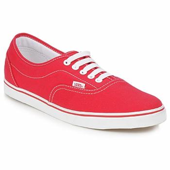 Boty Nízké tenisky Vans LPE Červená