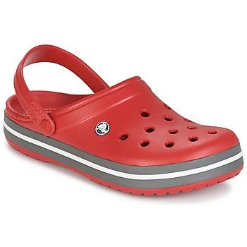 Boty Pantofle Crocs CROCBAND Červená