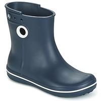 Boty Ženy Holínky Crocs JAUNT SHORTY BOOTS Tmavě modrá