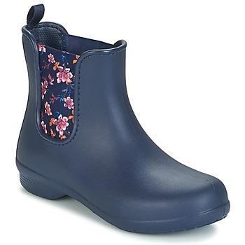 Boty Ženy Kotníkové boty Crocs CROCS FREESAIL CHELSEA Tmavě modrá