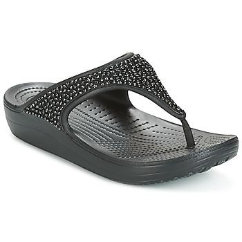 Boty Ženy Sandály Crocs SLOANE Černá