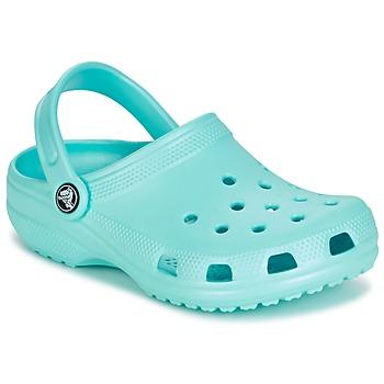Boty Děti Pantofle Crocs CLASSIC CLOG KIDS Modrá