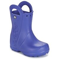 Boty Děti Holínky Crocs HANDLE IT RAIN BOOT Modrá
