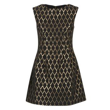 Textil Ženy Krátké šaty Molly Bracken DIRCO Černá / Zlatá