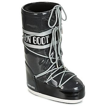 Boty Ženy Zimní boty Moon Boot MOON BOOT STARRY Černá / Bílá