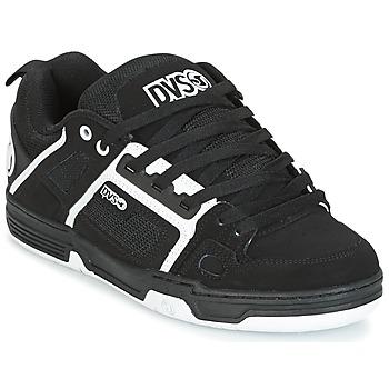 Boty Muži Nízké tenisky DVS COMANCHE Černá / Bílá