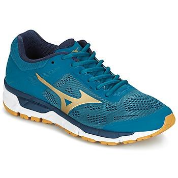 Boty Muži Běžecké / Krosové boty Mizuno MIZUNO SYNCHRO MX 3 Modrá