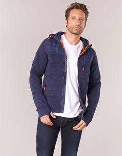 Textil Muži Mikiny Superdry MOUNTAIN QUILTED SHERPA Tmavě modrá
