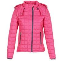 Textil Ženy Prošívané bundy Superdry FUJI BOX QUILTED Růžová