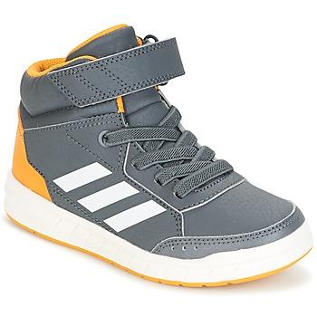 Boty Chlapecké Kotníkové tenisky adidas Performance ALTASPORT MID EL K Šedá