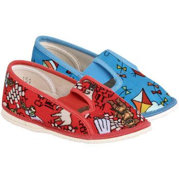 Boty Děti Bačkůrky pro miminka Arno 555-2 barevné dívčí papučky Mix - různé velikosti mají různé barvy