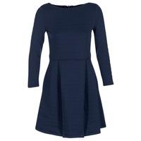 Textil Ženy Krátké šaty Petit Bateau LAUREANNA Tmavě modrá