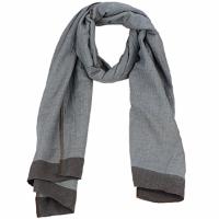 Textilní doplňky Ženy Šály / Štóly Antik Batik ZOE Modrá / Hnědá
