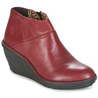 Boty Ženy Kotníkové boty Fly London SIPI 671 Červená