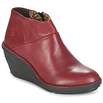 Fly London Kotníkové boty SIPI 671 - Červená